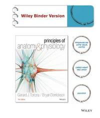 Principles of Anatomy and Physiology 14th Edition 9781118344392 1118344391
