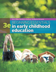 Beginning Essentials in Early Childhood Education 3rd Edition 9781305089037 1305089030