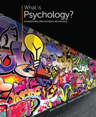 What is Psychology 3rd Edition 9781305088740 1305088743