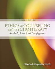 Ethics in Counseling & Psychotherapy 6th Edition 9781305687837 1305687833