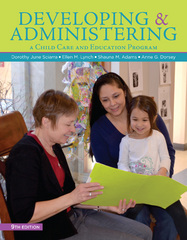 Developing and Administering a Child Care and Education Program 9th Edition 9781305088085 1305088085
