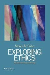 Exploring Ethics: An Introductory Anthology 3rd Edition 9780199367085 0199367086