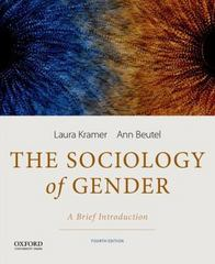 The Sociology of Gender 4th Edition 9780199349432 0199349436