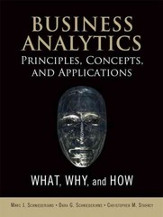 Business Analytics Principles, Concepts, and Applications 1st Edition 9780133552225 0133552225