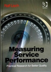 Measuring Service Performance 1st Edition 9781317099109 1317099109