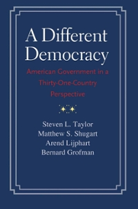 A Different Democracy 1st Edition 9780300198089 0300198086