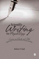 Scientific Writing for Psychology 1st Edition 9781483353043 1483353044