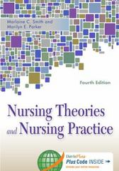 Nursing Theories and Nursing Practice 4th Edition 9780803633124 0803633122