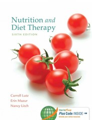Nutrition and Diet Therapy 6th Edition 9780803637184 0803637187