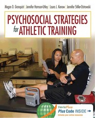 Psychosocial Strategies for Athletic Training 1st Edition 9780803638174 0803638175