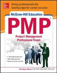 McGraw-Hill Education PMP Project Management Professional Exam 1st Edition 9780071831789 0071831789