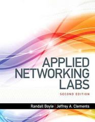 Applied Networking Labs 2nd Edition 9780133545180 0133545180