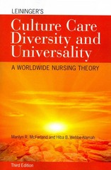 Leininger's Culture Care Diversity and Universality 3rd Edition 9781284026627 1284026620