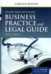 Nurse Practitioner's Business Practice and Legal Guide 5th Edition 9781284042283 1284042286