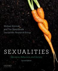 Sexualities 2nd Edition 9780199944231 0199944237