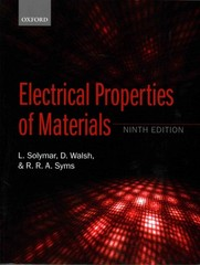 Electrical Properties of Materials 9th Edition 9780198702788 0198702787