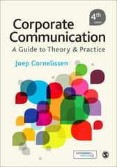 Corporate Communication 4th Edition 9781446274958 1446274950