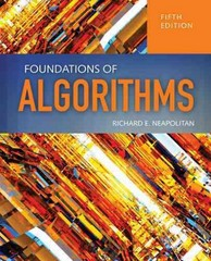 Foundations Of Algorithms 5th Edition 9781284049190 1284049191