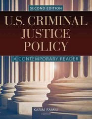 U.S. Criminal Justice Policy 2nd Edition 9781284020267 1284020266