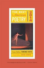 The Best American Poetry 2014 1st Edition 9781476708171 1476708177