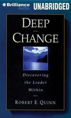 Deep Change 1st Edition 9781480589841 1480589845
