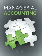 Managerial Accounting 4th Edition 9780133428377 0133428370