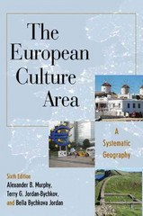 The European Culture Area 6th Edition 9781442223479 1442223472