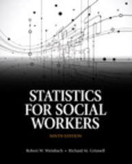 Statistics for Social Workers 9th Edition 9780205867035 0205867030