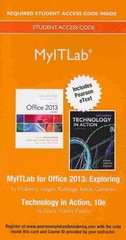 MyITLab with Pearson eText -- Access Card -- for Exploring with Technology In Action  10th Edition 9780133815689 0133815684