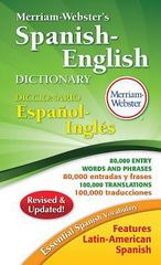 Merriam-Webster's Spanish-English Dictionary 2nd Edition 9780877798248 0877798249