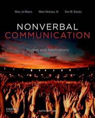 Nonverbal Communication 6th Edition 9780199990252 0199990255