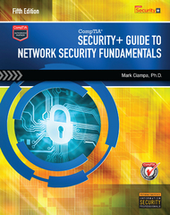 CompTIA Security+ Guide to Network Security Fundamentals (with CertBlaster Printed Access Card) 5th Edition 9781305093911 1305093917