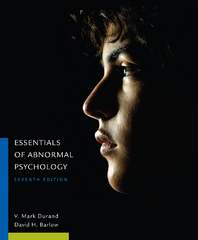 Essentials of Abnormal Psychology 7th Edition 9781305094147 130509414X
