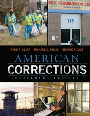 American Corrections 11th Edition 9781305093300 1305093305