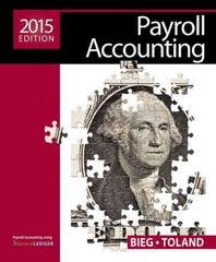 Payroll Accounting 2015 (with Cengage Learning's Online General Ledger, 2 terms (12 months) Printed Access Card) 25th Edition 9781285862071 1285862074