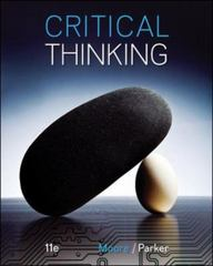 Critical Thinking 11th Edition 9780078119149 0078119146