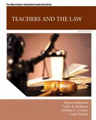Teachers and the Law 9th Edition 9780133569681 0133569683