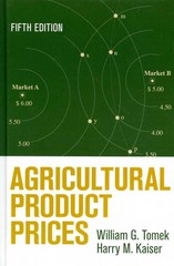 Agricultural Product Prices 5th Edition 9780801452307 0801452309