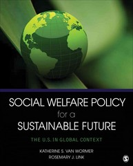Social Welfare Policy for a Sustainable Future 1st Edition 9781452240312 1452240310
