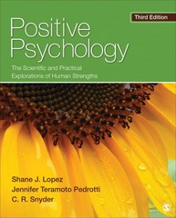 Positive Psychology 3rd Edition 9781452276434 1452276439