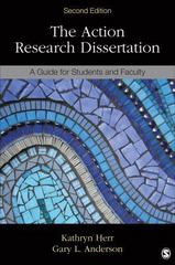 The Action Research Dissertation 2nd Edition 9781483333106 1483333108
