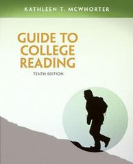 Guide to College Reading 10th Edition 9780321921451 0321921453