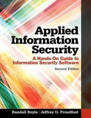Applied Information Security 2nd Edition 9780133547436 0133547434