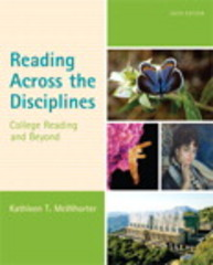 Reading Across the Disciplines 6th Edition 9780321921482 0321921488