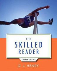 The Skilled Reader 4th Edition 9780321917829 0321917820