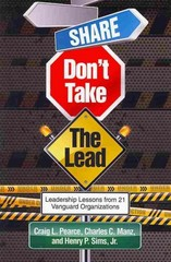 Share, Don't Take the Lead 1st Edition 9781623964757 162396475X