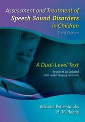 Assessment and Treatment of Speech Sound Disorders in Children 3rd Edition 9781416405801 1416405801