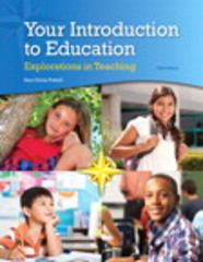 Your Introduction to Education 3rd Edition 9780133846508 0133846504