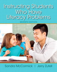 Instructing Students Who Have Literacy Problems 7th Edition 9780133563702 0133563707
