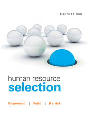 Human Resource Selection 8th Edition 9781305893603 1305893603